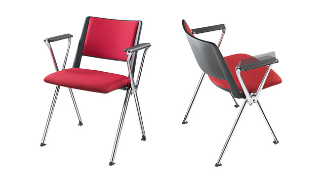 Офисные стулья со спинкой F01