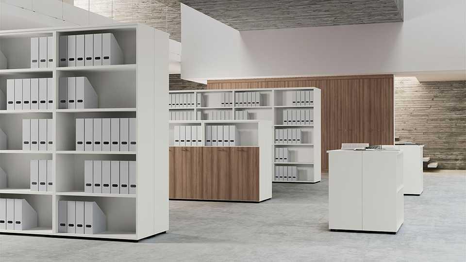 Где лучше заказать универсальные шкафы премиум в офис