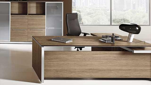 Дизайн офисной мебели E.O.S.