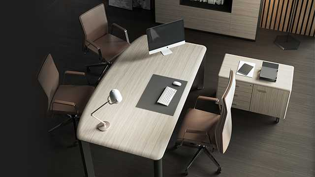 Элегантный дизайн офисной мебели Iulio