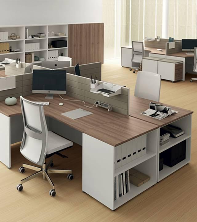 Современная офисная мебель для персонала
