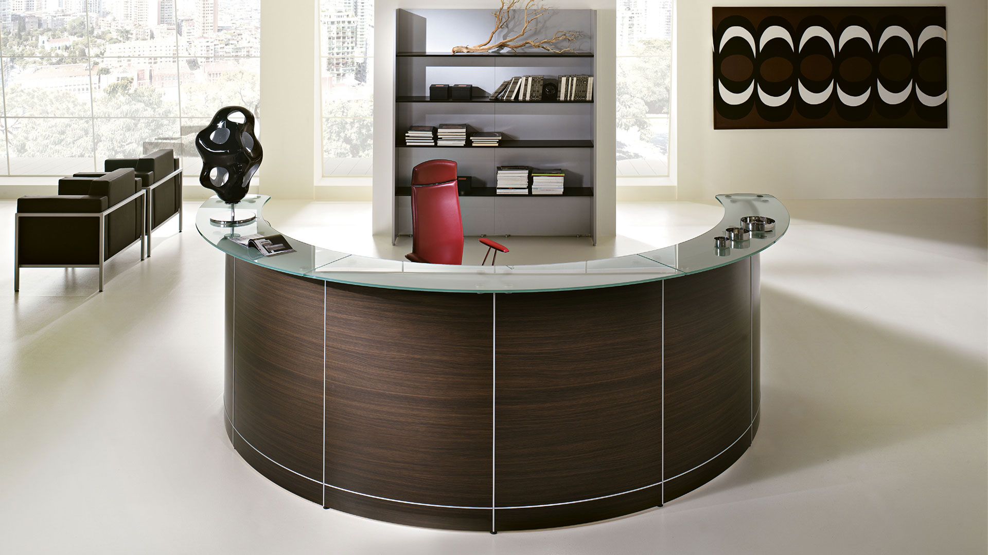 Российское представительство фабрики офисной мебели LAS