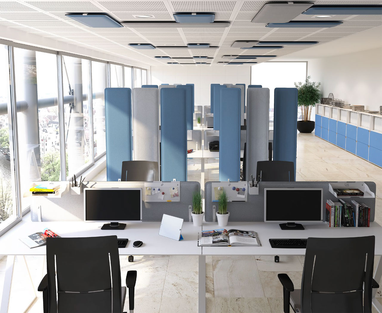 звукопоглощающие панели для потолка
